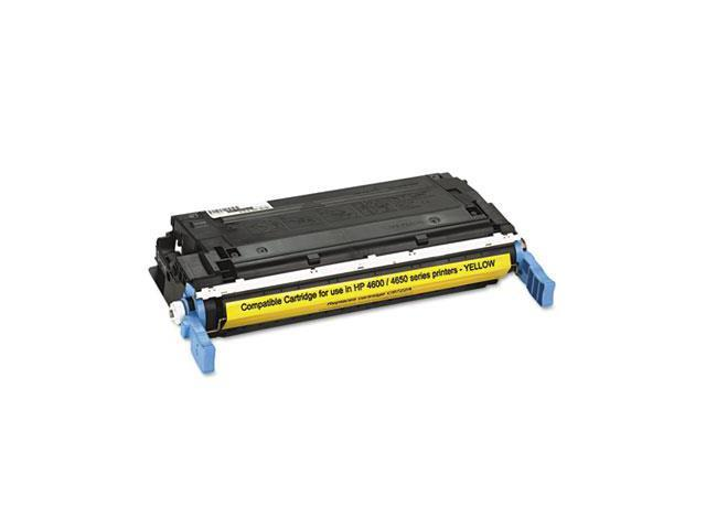 HQ Supplies © Remanufactured HP 641A (C9722A) Yellow Laser Toner Cartridge for HP Color LaserJet 4600, Color LaserJet 4600dn, Color LaserJet ...