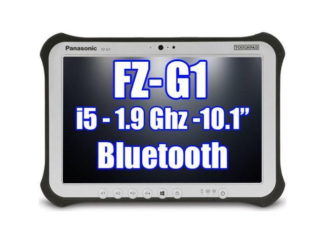 Panasonic Toughpad FZ-G1 i5 1.90GHz 256GH SSD Bluetooth