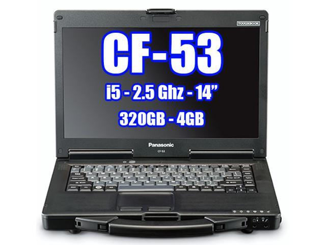 Panasonic Toughbook CF-53 Intel Core i5-2520M 2.50GHz