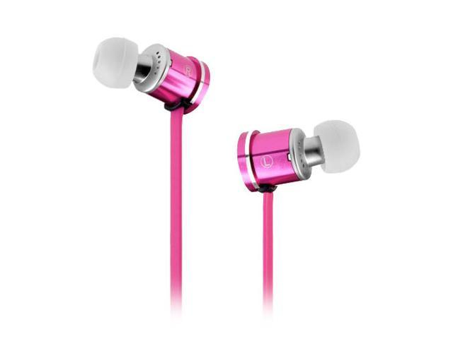 Velodyne vPulse In-Ear Headphones with Inline Microphone - Pink