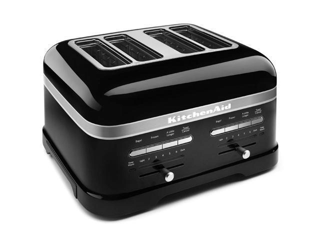 KitchenAid | KMT4203OB Onyx Black | 4-Slice Pro Line Toaster - OEM