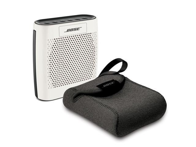 Bose SoundLink Color White Bundle Bluetooth Mobile Speaker with Travel Case