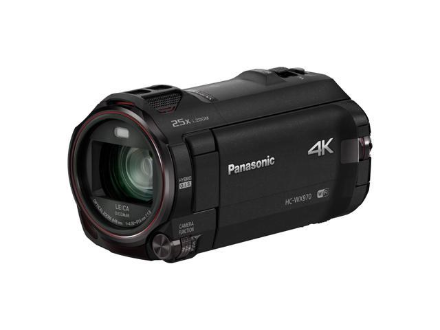 Panasonic HC-WX970K 4K Ultra HD Camcorder with Twin Video Capture
