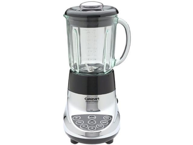Cuisinart SPB-7CH 7-Speed Glass Jar Blender Chrome Manufacturer Refurbished