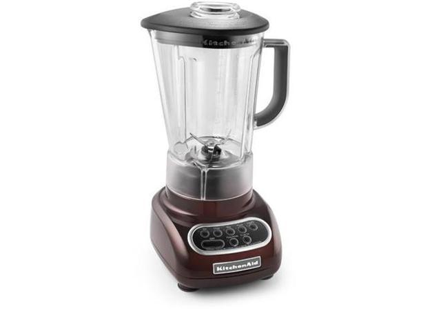 KitchenAid KSB560ES Espresso 56 oz. Jar Size Artisan Series Blender with BPA-Free Pitcher 5 speeds