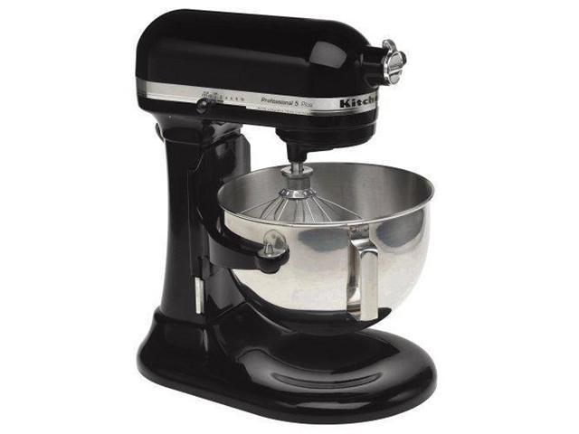 Kitchenaid Stand Mixer 475 -W 10-Speed 5-Quart R-Kg25h0XOB Black Professional HD Manufacturer Refurbished