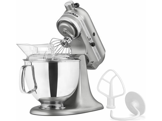 Kitchenaid Stand Mixer tilt 5-Quart R-ksm150pscu Artisan 10-sp Contour Silver Manufacturer Refurbished