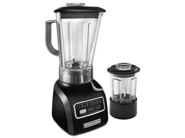 KitchenAid Vortex Wet & Dry Blender 5-Speed .9 HP Motor Onyx Black KSB655COB