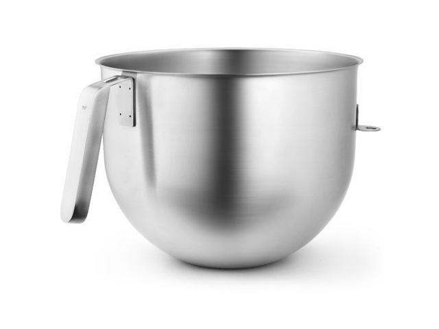 KitchenAid Commercial 7 Qt. Bowl for Stand Mixers KSMC7QBOWL Stainless Steel