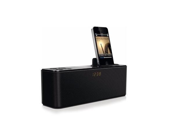 Philips AD345 Docking Speaker for iPod/iPhone with Clock Display