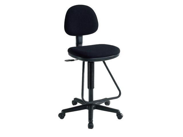 Viceroy Artist/Drafting Chair w Footrest (Black)
