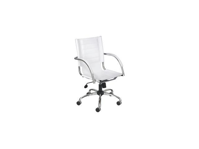 Flaunt Managers Chair in White