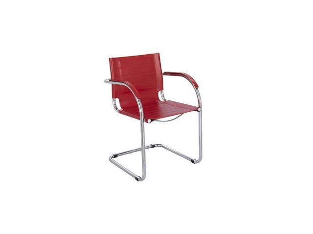 Flaunt Guest Chair in Red