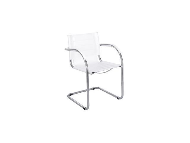 Flaunt Guest Chair in White