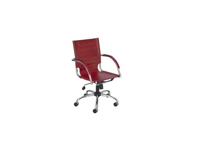 Flaunt Managers Chair in Red