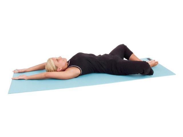 Elite Yoga Mat (72 in. - Pastel Teal w Strap)