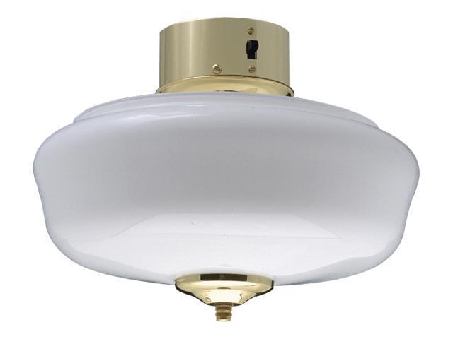 Low Profile School House Bowl Light Kit