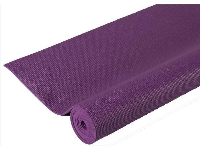 Extra Thick Non-Slip Pilates Yoga Mat in Purple (72 in. W x 0.24 in. H)