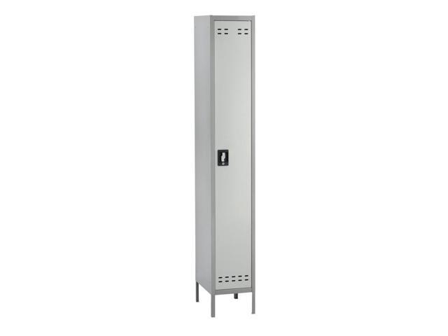 Single Steel Tier Locker (Gray)