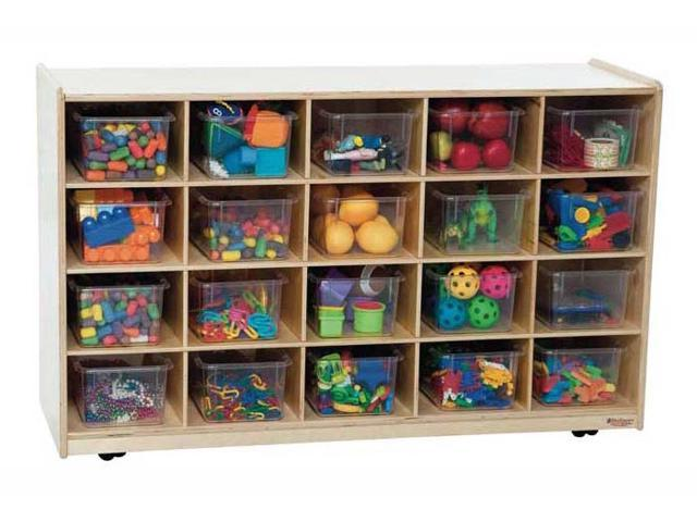 Kid's Play 20 Tray Island w Twenty Clear Trays