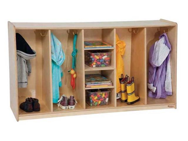 Kid's Play 4-Section Tip-Me-Not Locker