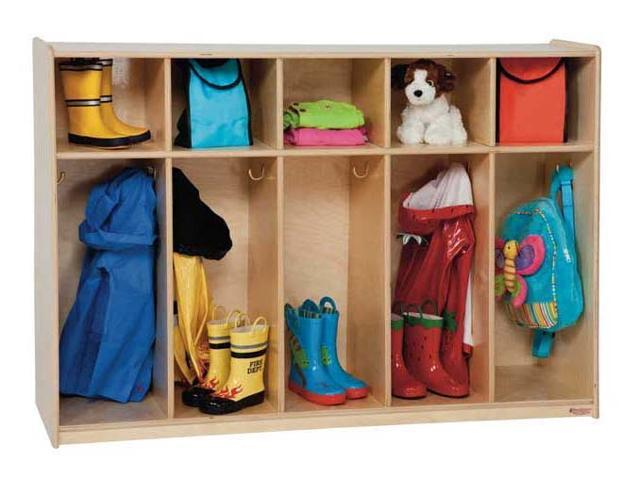 Kid's Play 5-Section Tip-Me-Not Locker