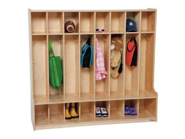 Kid's Play 8-Section Seat Locker (Blueberry)