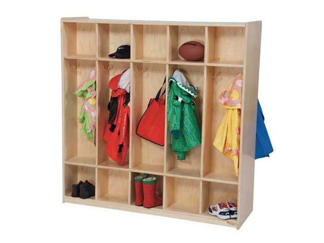 Kid's Play 10-Section Double Locker