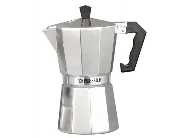 Traditional Aluminum Stove Top Espresso Maker (12 Cups (11 in. H))