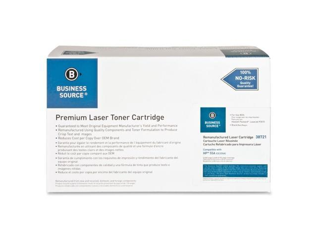 Business Source Remanufactured Laser Cartridge, 6000 Page Yield, Black
