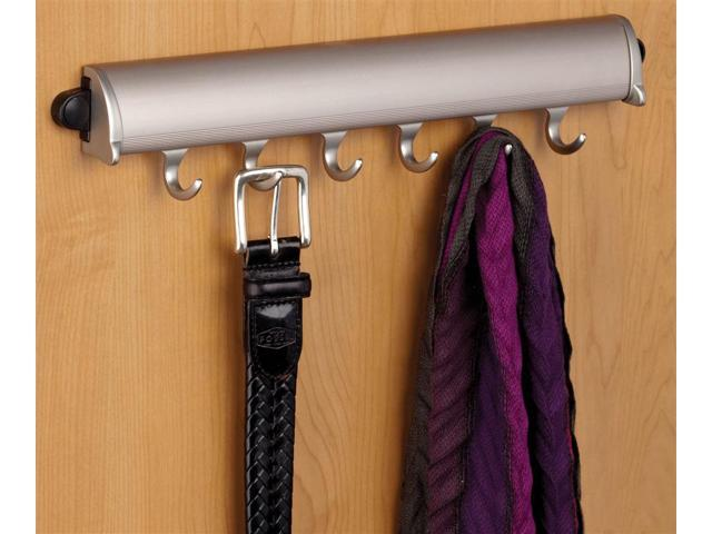 Synergy Elite Fixed Accessory Rack in Matte Nickel