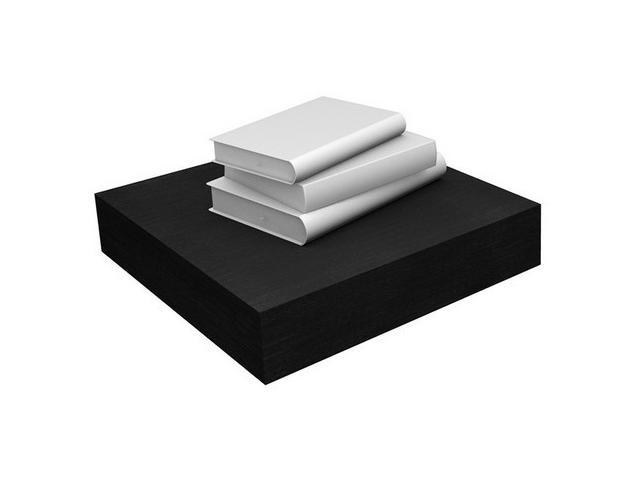 Eco Friendly Floating Shelf in Black