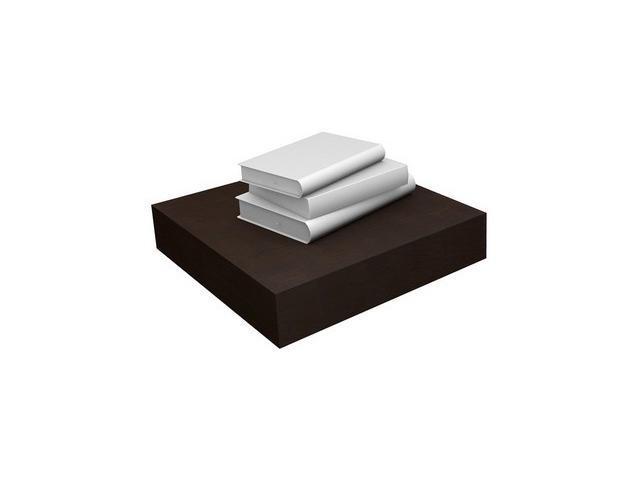 Eco Friendly Floating Shelf in Espresso