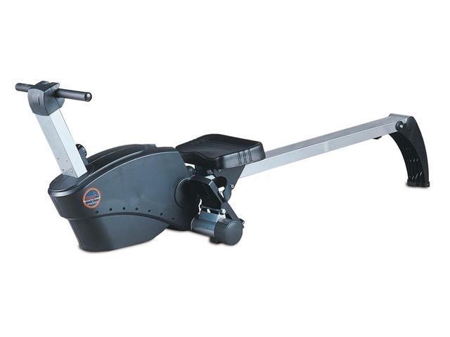 Power Rower w 4 Window LCD Display in Black & Silver