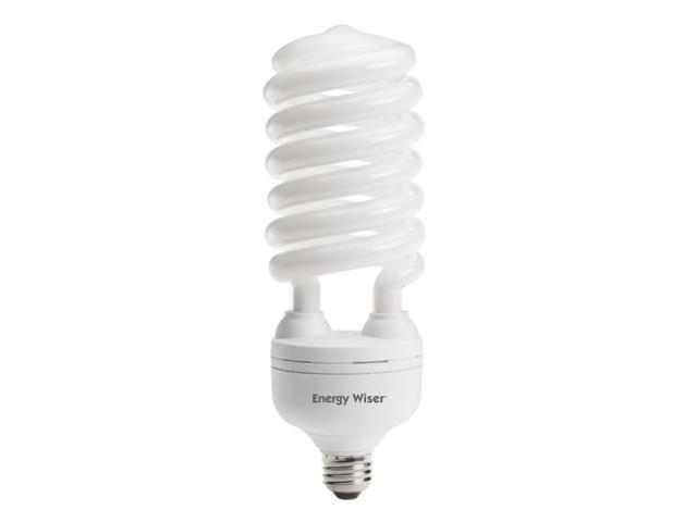 55 Watt Compact Fluorescent Coil Bulbs (Warm White)