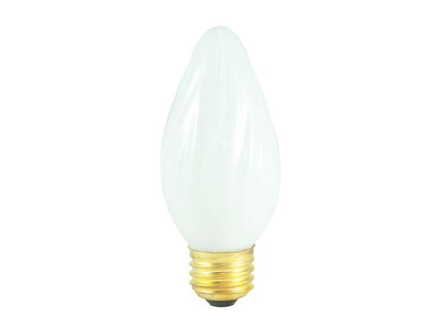 Fiesta Chandelier Bulbs in White - 25 Bulbs (40w, 300 lumens)