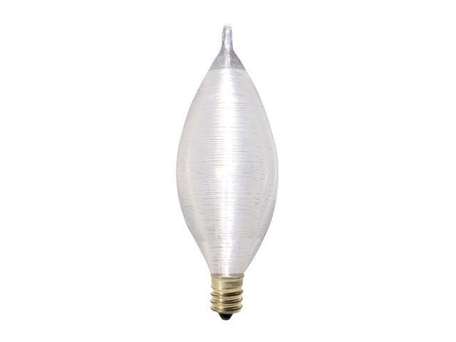 Spunlite Chandelier Bulbs in Satin - 25 Bulbs (40w)