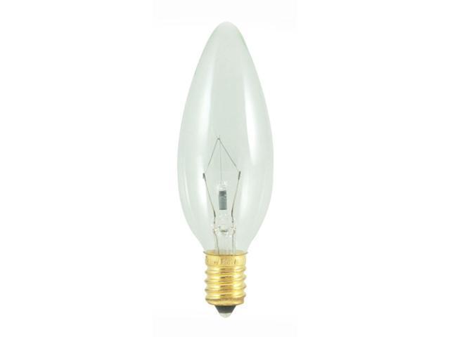 Torpedo Chandelier Light Bulbs - 25 Bulbs (40w)