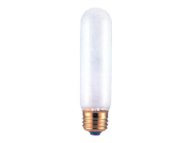 Incandescent Tubular Light Bulbs in Frost - 25 Bulbs (40w)