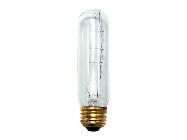 Tubular High Output Light Bulbs in Clear - 25 Bulbs (40w)
