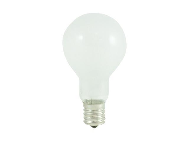 Standard Frost A15 Fan Light Bulbs - 24 Bulbs (40w)