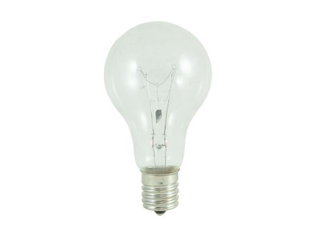 Standard Clear A15 Fan Light Bulbs - 24 Bulbs (40w)