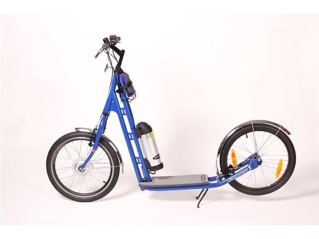 Zumaround Electric Hybrid Kick Scooter (Blue)