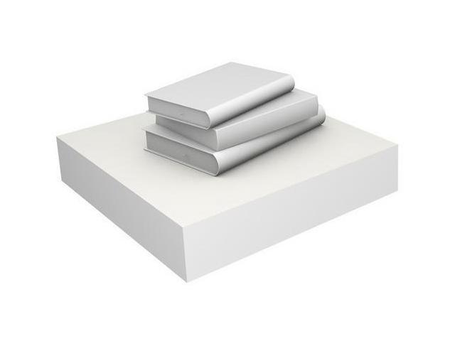 Eco Friendly Floating Shelf in White