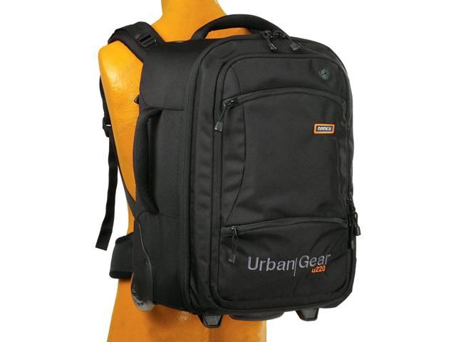 U220n Rolling Urban Gear SLR/Laptop Backpack - Black