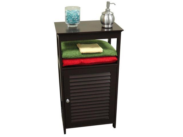 Ellsworth Single Door Floor Cabinet in Espresso