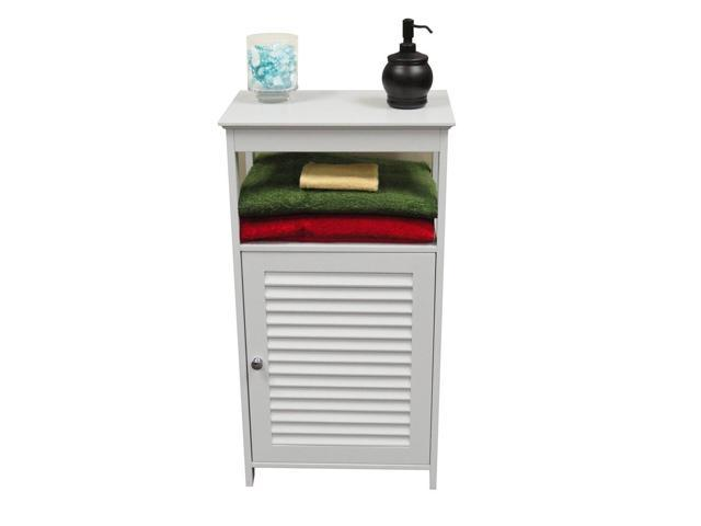 Ellsworth Single Door Floor Cabinet in White