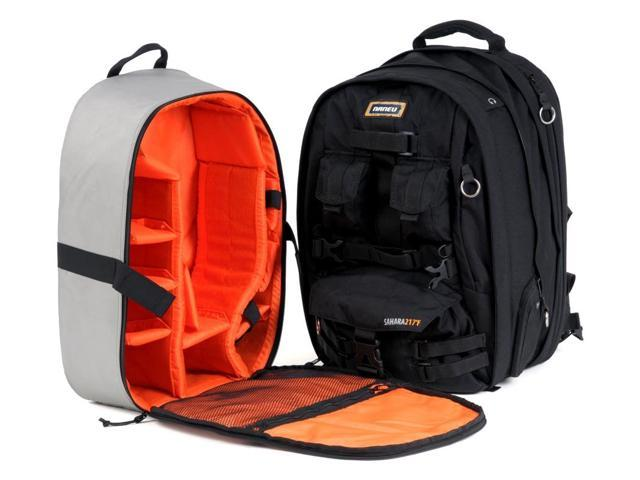 217f Expandable Sahara Camera and Laptop Backpack (Black)