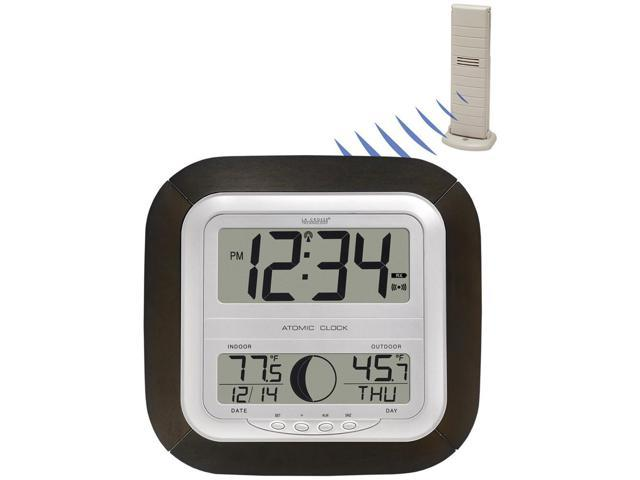 WS-8418U-IT - Digital Atomic Wall Clock