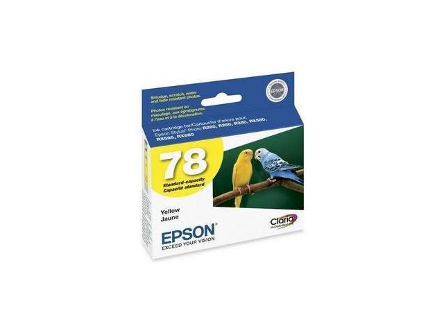 Epson Yellow Ink Cartridge - Inkjet - Yellow
